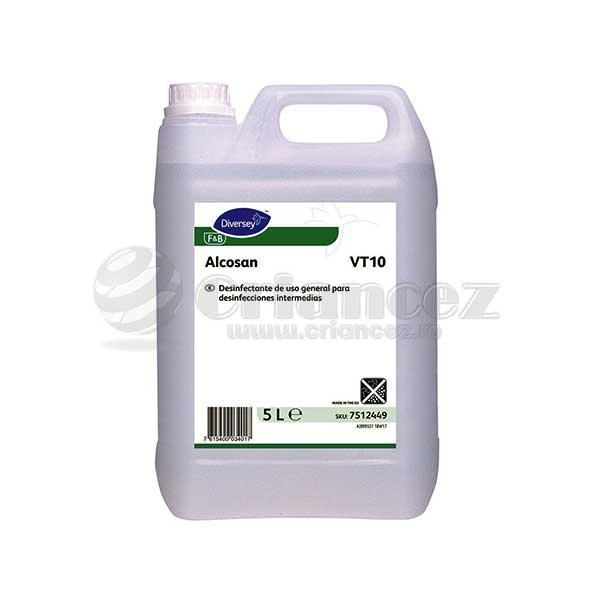 Dezinfectant suprafețe Alcosan VT10 5litri