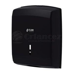 Dispenser prosoape pliate din hartie, plastic negru T6100