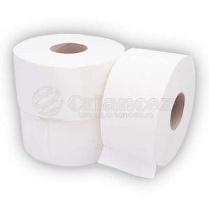 rola hârtie igienică jumbo alba 450g