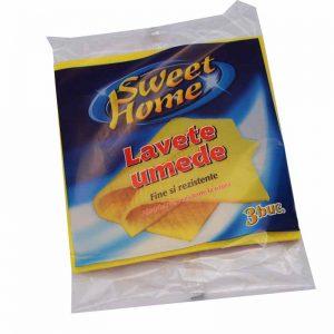 Lavete umede x3 Sweet Home